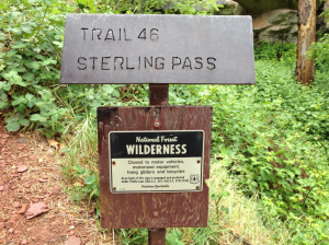 Sterling Pass Trailhead