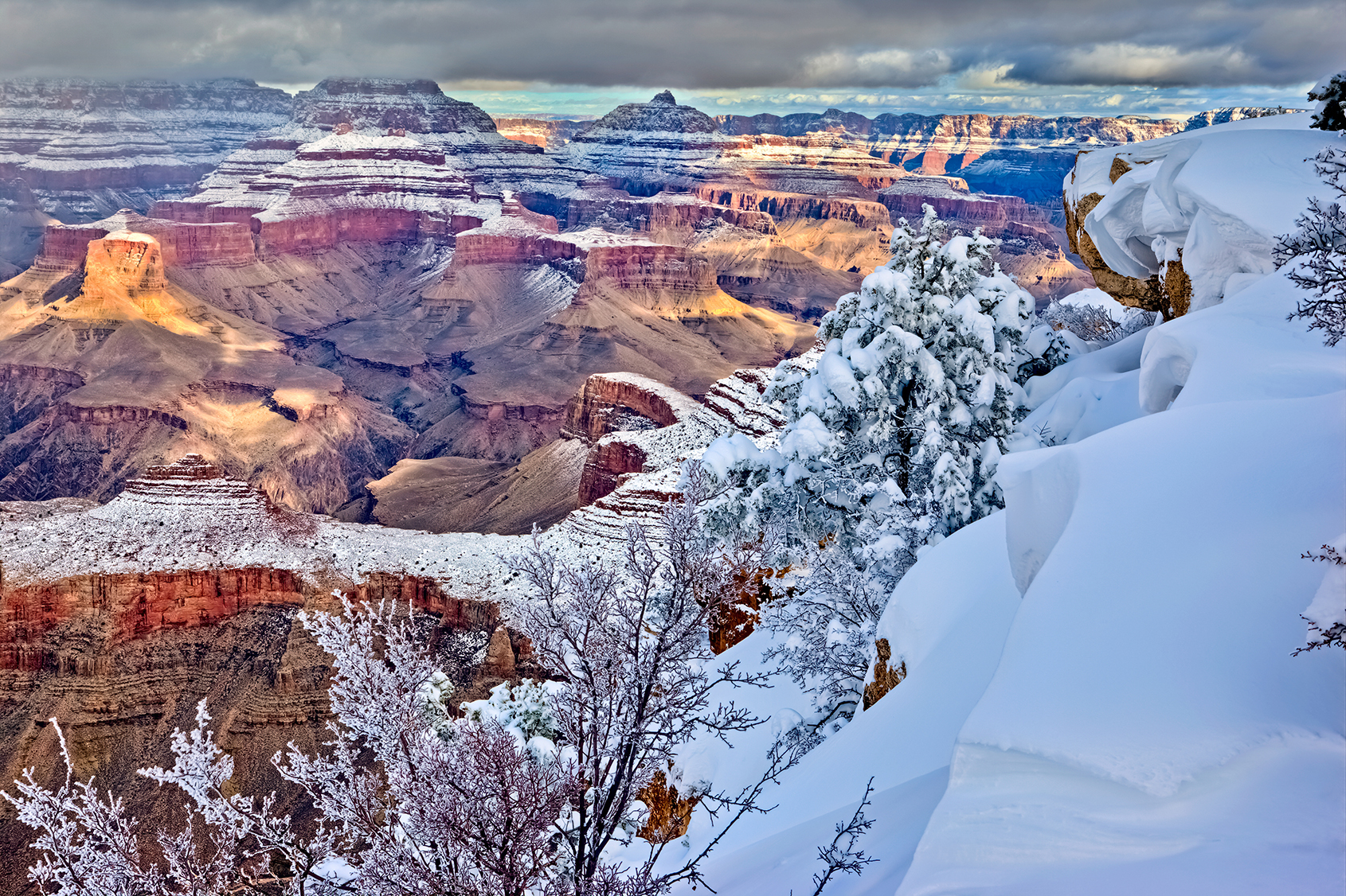 Hiking The Grand Canyon In Winter Grand Canyon Collective
